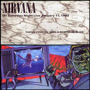 Nirvana SNL poster
