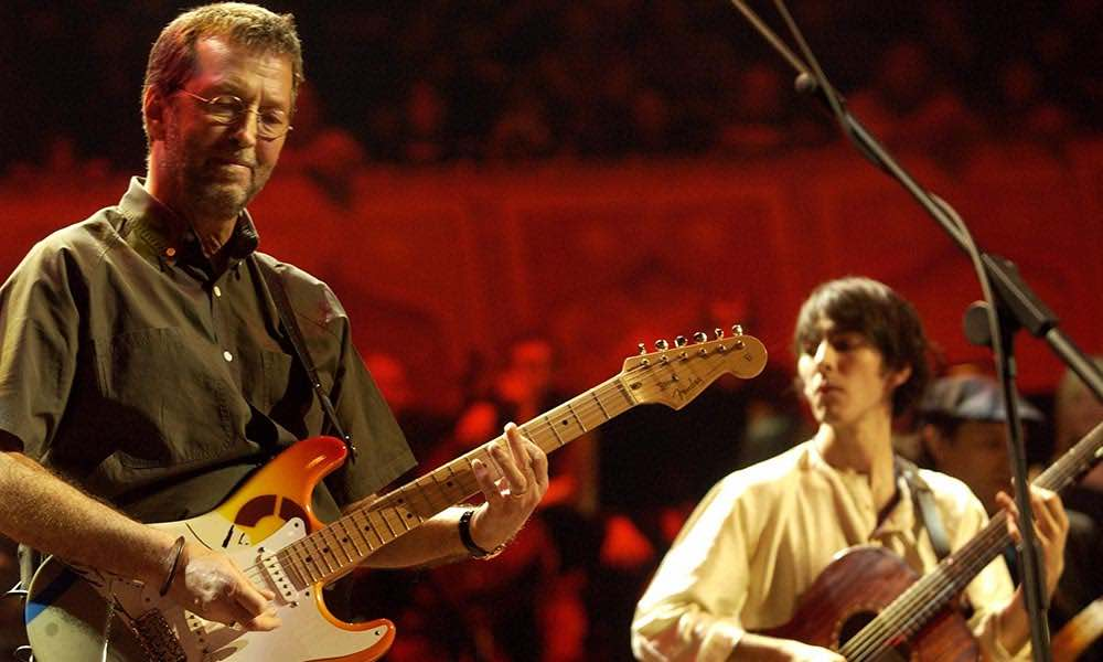 Eric Clapton Dhani Harrison Concert For George