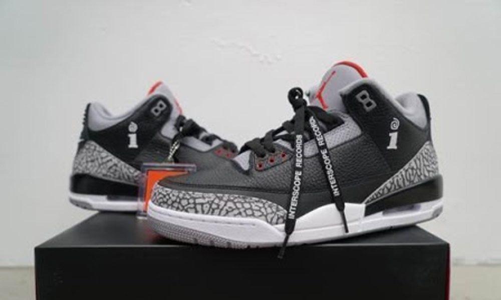 Interscope Air Jordan III Sneakers