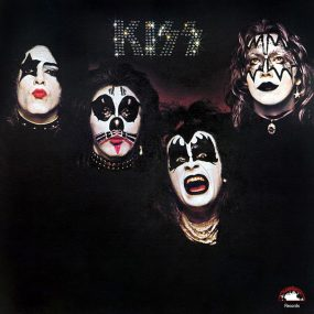 KISS Debut album cover web optimised 820