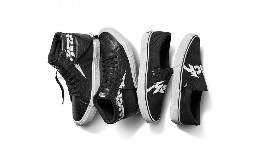 Metallica Vans New Range Merchandise