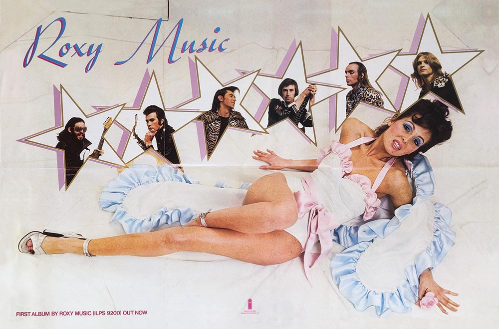 Roxy Music Album Cover Poster Web Optimised 1000