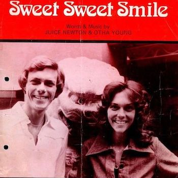 Sweet Sweet Smile sheet music Carpenters