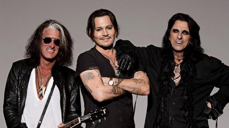 Alice Cooper, Joe Perry Supergroup Hollywood Vampires Announce UK Shows