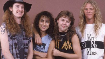 Metallica Reveal Plans For 'Cliff Burton Day' In Late Bassist's Hometown
