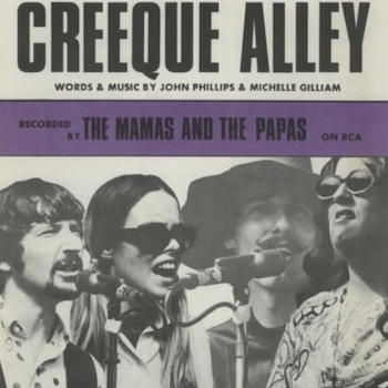 Creeque Alley sheet music Mamas and Papas