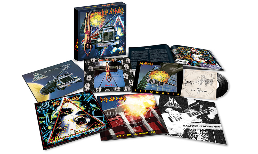 Def Leppard Volume One Box Set