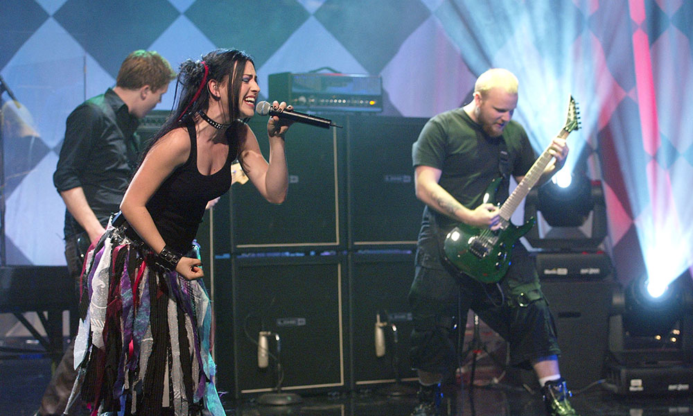 Evanescence photo by Kevin Winter and Getty Images