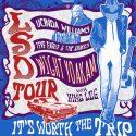 Lucinda Williams, Steve Earle, Dwight Yoakham Join Up For LSD Tour