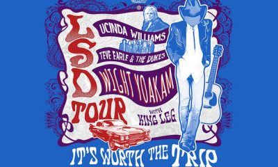LSD Tour Lucinda Williams Steve Earle Dwight Yoakam