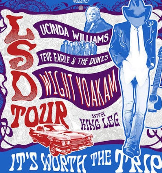 LSD Tour Lucinda Williams Steve Earle Dwight Yoakam