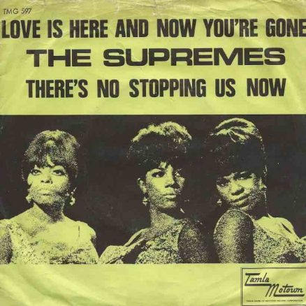 Love Is Here And Now You're Gone Supremes