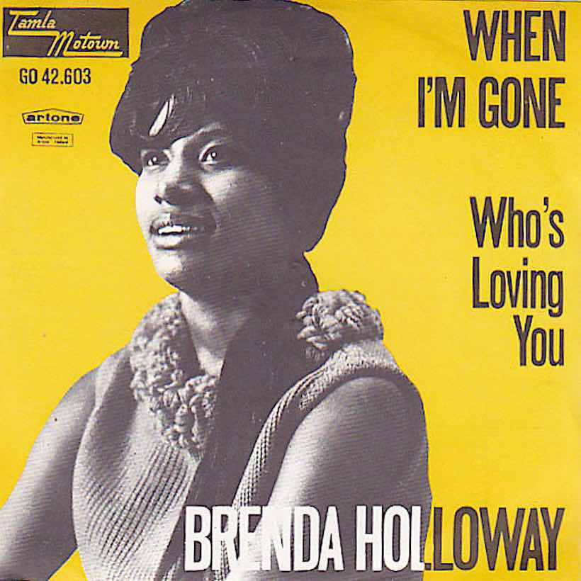 When I'm Gone Brenda Holloway