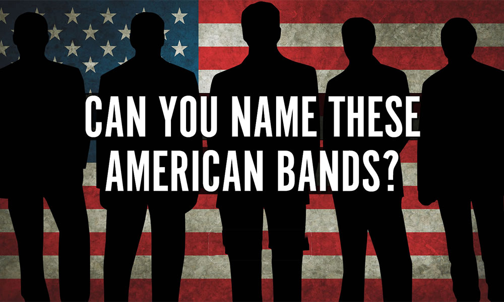Can You Name These American Bands Quiz