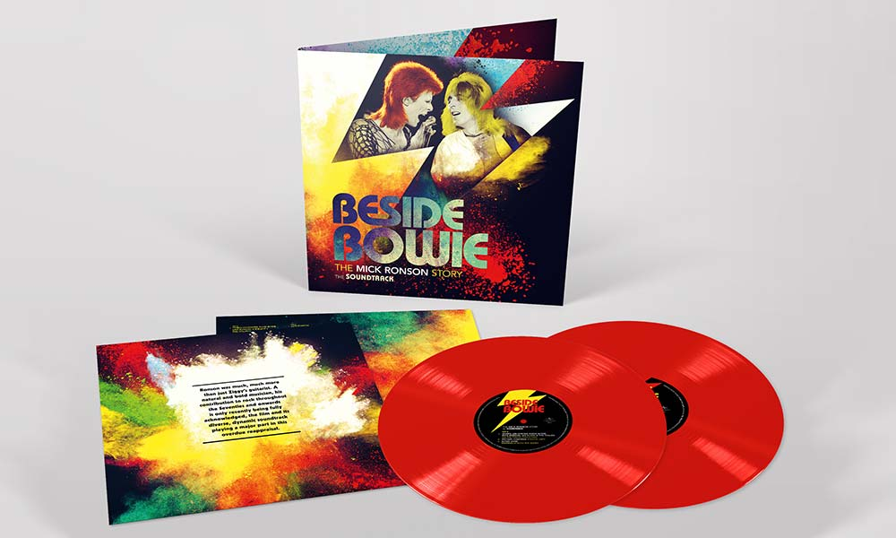 Beside Bowie packshot red vinyl web optimised 1000
