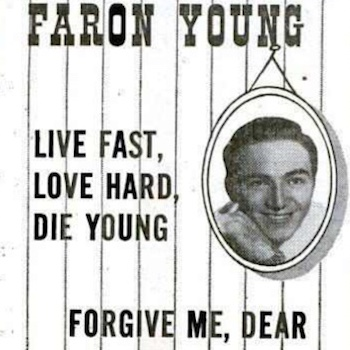 Faron Young ad