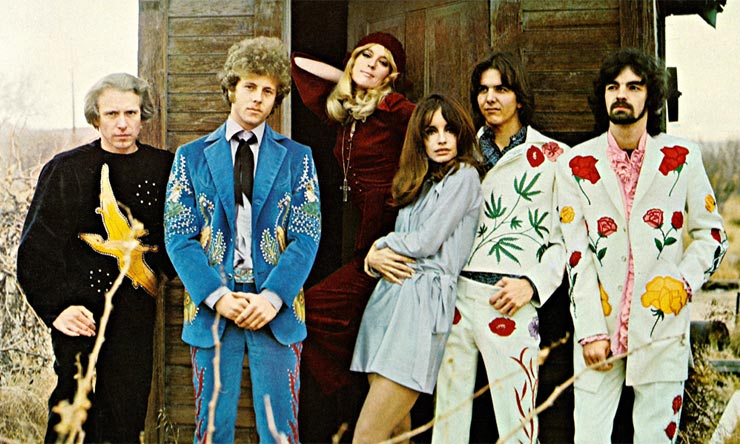 The Flying Burrito Brothers Gilded Palace Of Sin era photo web optimised 740