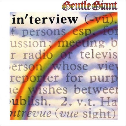 Gentle Giant Interview album cover web optimised 820 with border