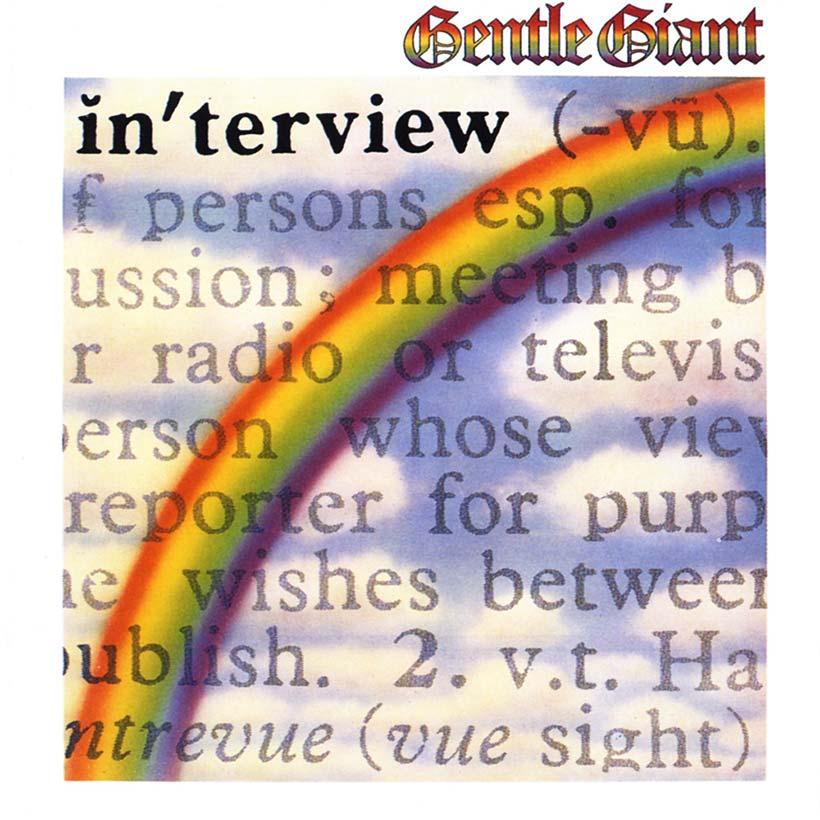 Gentle Giant Interview album cover web optimised 820
