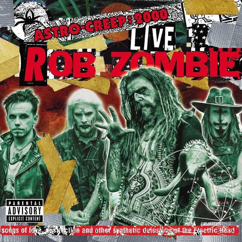Rob Zombie Astro Creep 2000 Live Album Cover Web Optimised 820