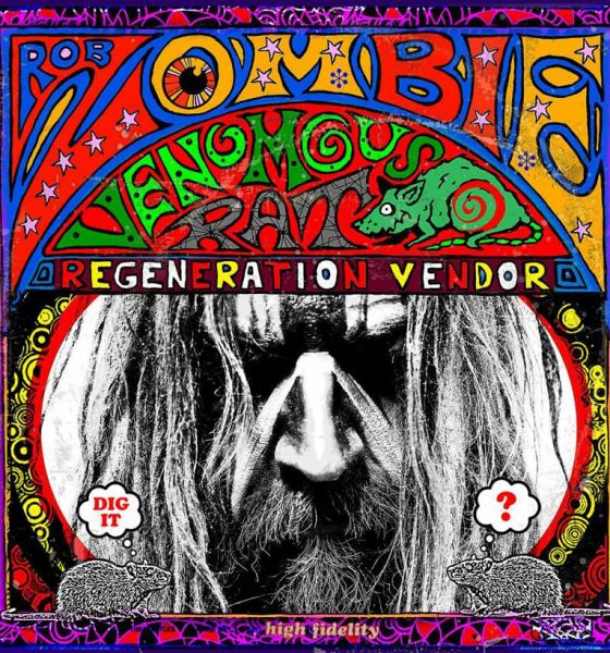 Rob Zombie Venomous Rat Regeneration Vendor Album Cover web optimised 820