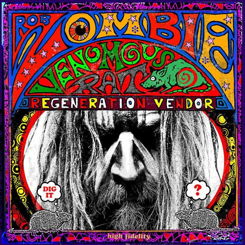 Rob Zombie Venomous Rat Regeneration Vendor Album Cover web optimised 820