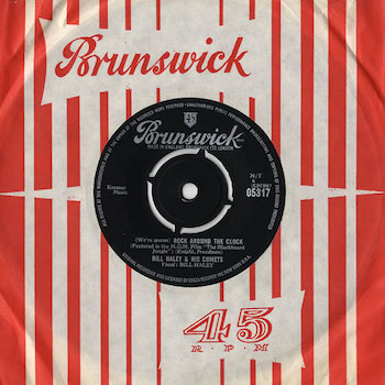 Rock Around The Clock Bill Haley UK single