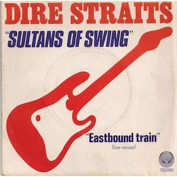 Dire Straits Sultans of Swing album cover