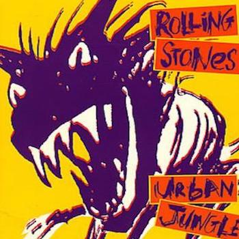 Urban Jungle Rolling Stones poster