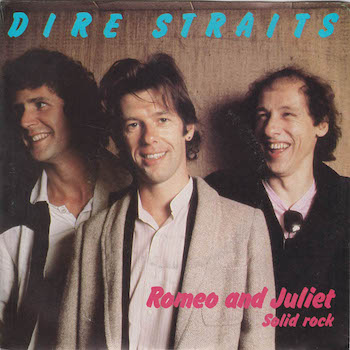 Dire Straits Romeo and Juliet album cover