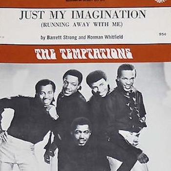 Temptations Just My Imagination sheet music