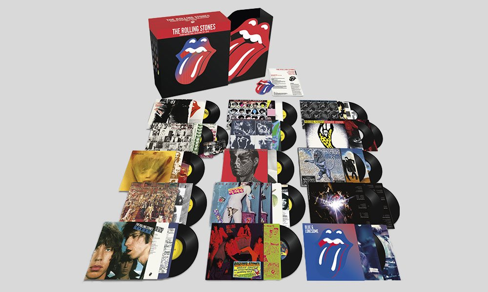 Rolling Stones Announce Studio Albums Vinyl Collection