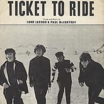 Beatles Ticket To Ride sheet music