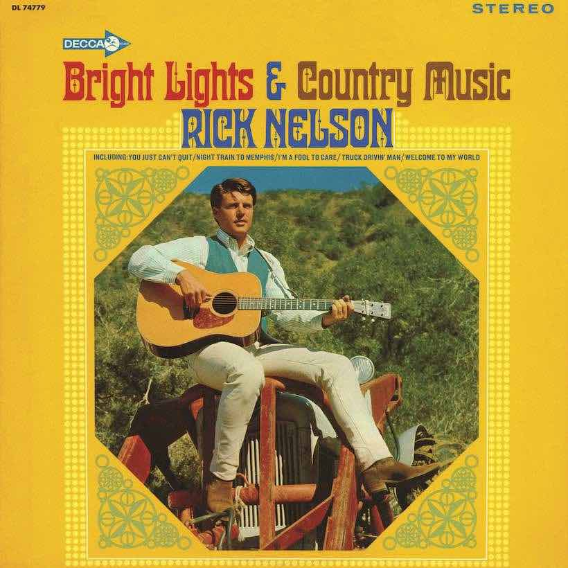 Rick Nelson Bright Lights & Country Music