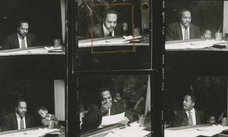 Bud Powell The Amazing Bud Powell contacts - CREDIT - Francis Wolff/Blue Note Records