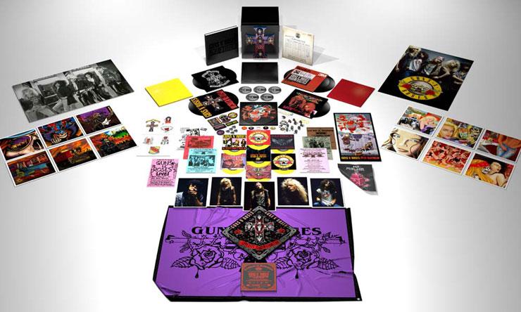 Guns N' Roses Locked N' Loaded box set web optimised 740