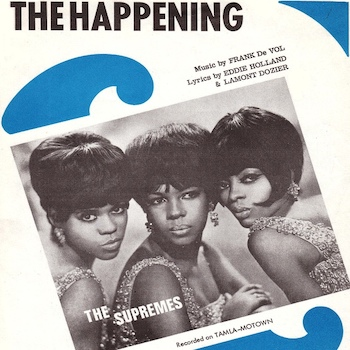 Happening Supremes Sheet Music