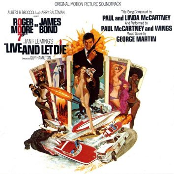 James Bond Live And Let Die Soundtrack artwork 820
