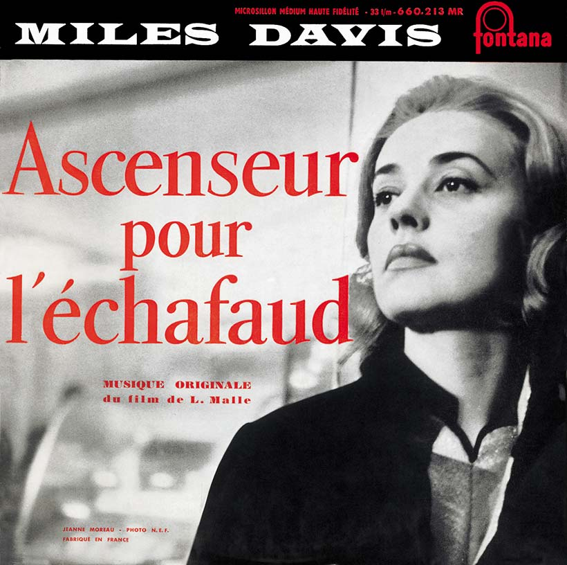 Miles Davis - Ascenseur Pour L'Échafaud album cover web optimised 820