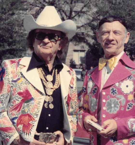 Nudie Cohn and Hank Snow