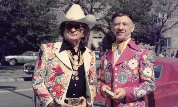Nudie Cohn and Hank Snow