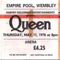 Queen Arrive At Wembley In 1978 Milestone