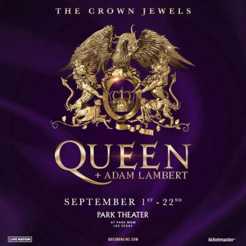 Queen Adam Lembert Vegas Crown Jewels