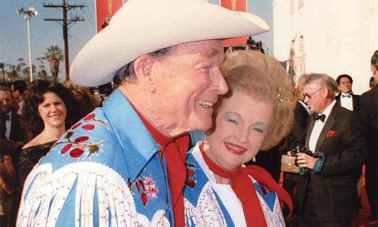 Roy Rogers And Dale Evans - Nudie Cohn suits