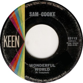 Sam Cooke Wonderful World Keen