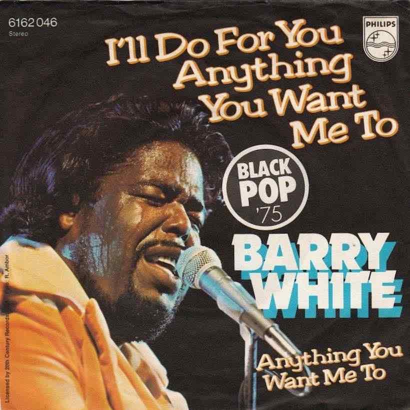 Barry White I'll Do For You single