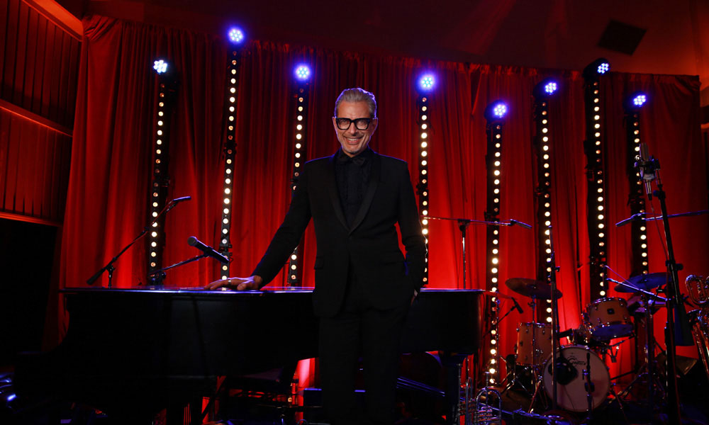 Jeff Goldblum Signs Decca Records