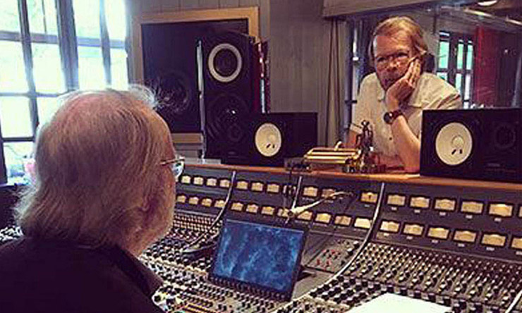 ABBA New Songs Recording Studio