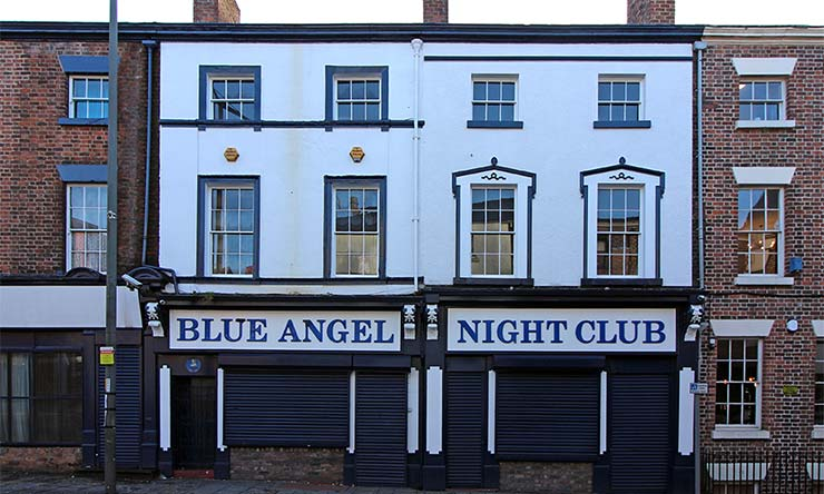 Blue Angel Night Club Featured Image