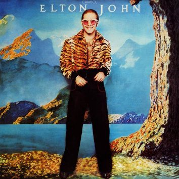 Elton John Caribou album cover 820